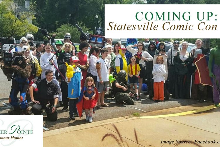 Coming Up: Statesville Comic Con 2020