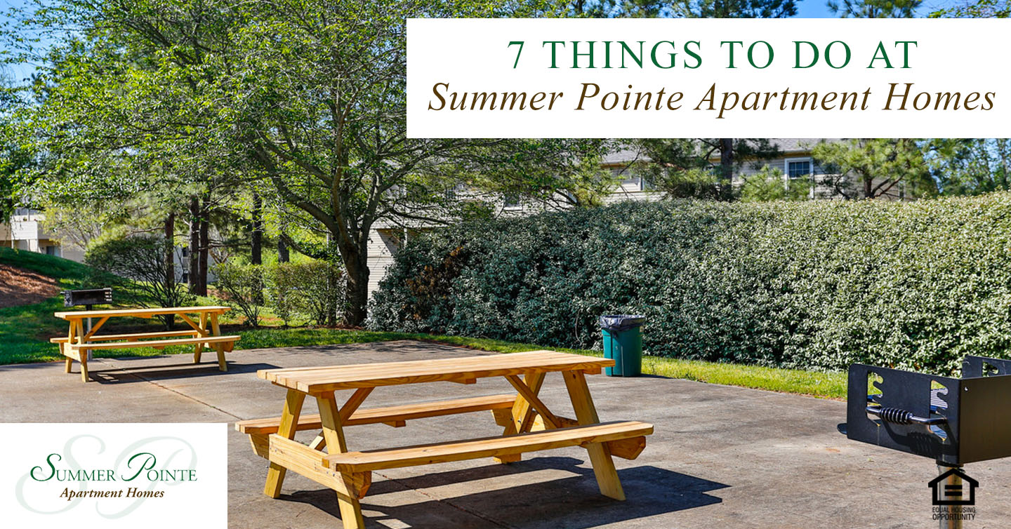 things to do at summer pointe apartment homes