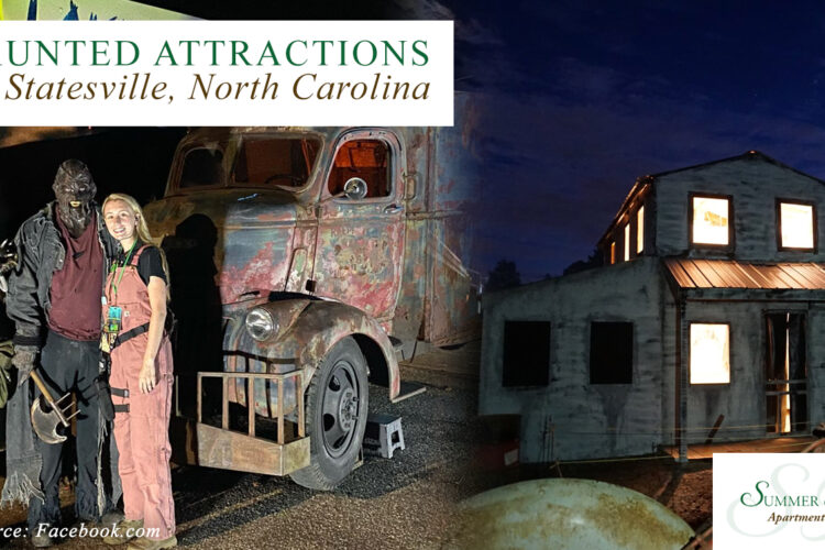 6 Haunted Attractions Near Statesville, North Carolina