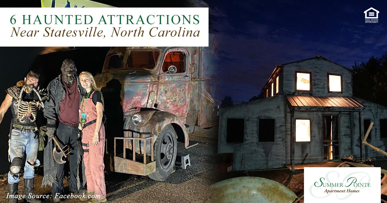 Haunted Attractions Near Statesville, North Carolina