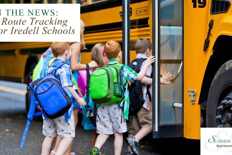 In the News: Bus Route Tracking App for Iredell Schools