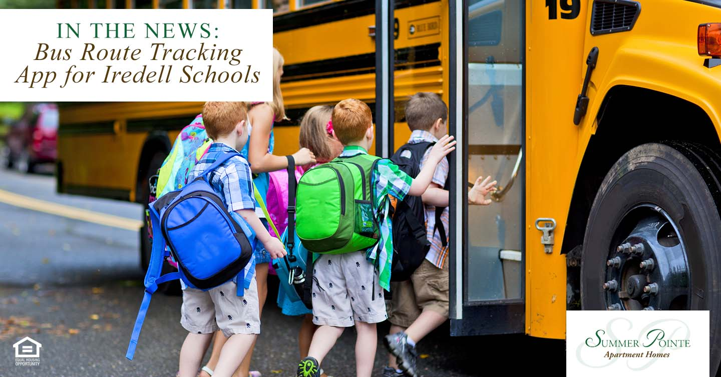 Bus Route Tracking App for Iredell Schools