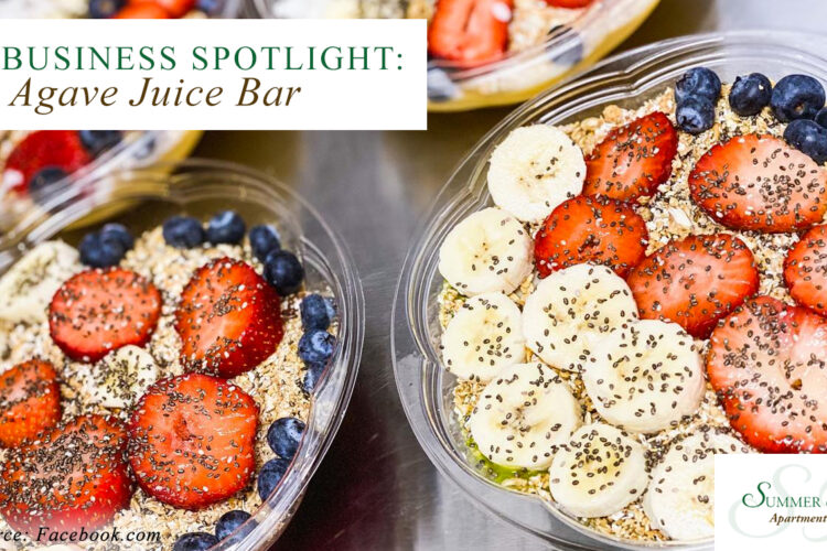 New Business Spotlight: Agave Juice Bar