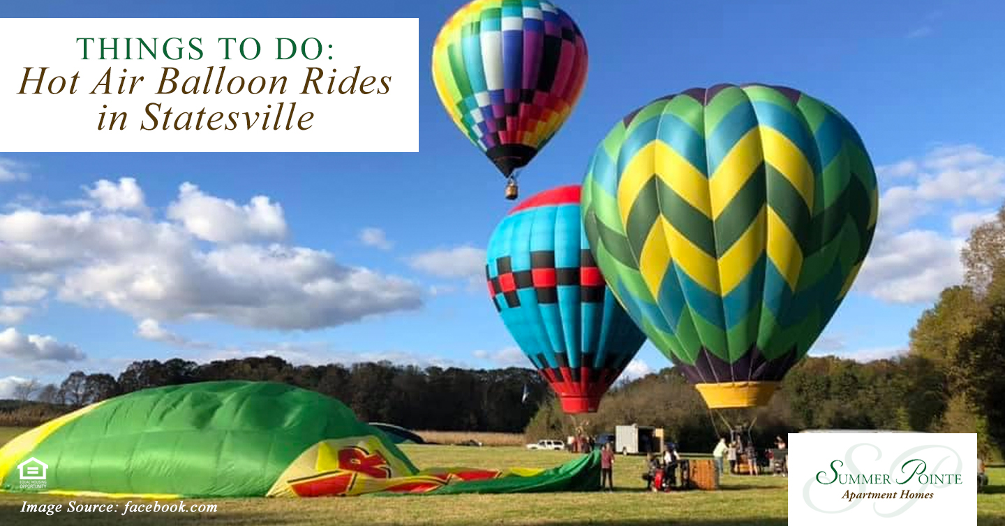 Things to Do: Hot Air Balloon Rides in Statesville