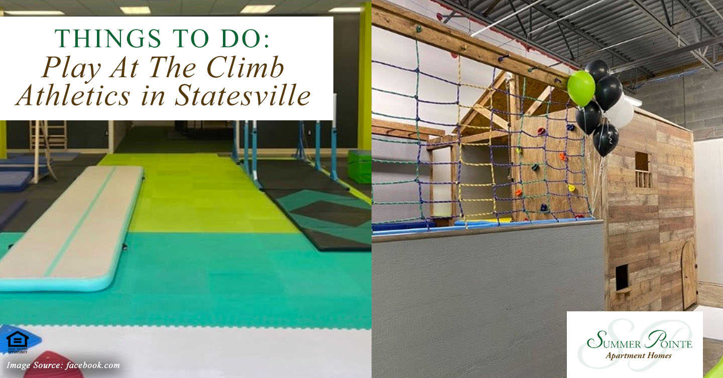 Things to Do: Play At The Climb Athletics in Statesville